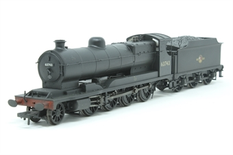 31-001Z-PO04 Class O4 2-8-0 Robinson ROD 63743 in BR black with late crest - weathered - Exclusive to Hatton's - Pre-owned - Like new