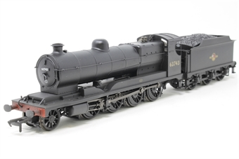 31-001Z-PO05 Class O4 2-8-0 Robinson ROD 63743 in BR black with late crest - weathered - Exclusive to Hatton's - Open box, imperfect box