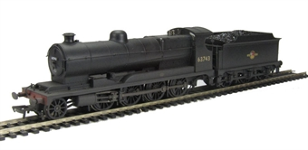 31-001Z Class O4 2-8-0 Robinson ROD 63743 in BR black with late crest - weathered - Exclusive to Hatton's