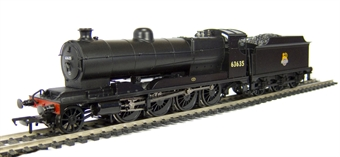 31-002 Class O4 2-8-0 Robinson ROD 63635 in BR black with early emblem.