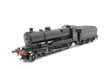 31-003-PO09 Class O4 Robinson 2-8-0 3016 in LNER black - Pre-owned - marks on body - repainted cab and tender - reliveried - renumbered - detailed with added crew and lamps - added chimney and boiler pipe - modified front coupling - imperfect box