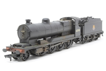 31-004-PO07 Class O4 Robinson 2-8-0 63598 in BR black with early emblem - weathered - Pre-owned - DCC fitted, with stay alive capacitor