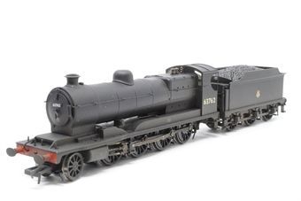 31-004A-PO01 Class O4 Robinson 2-8-0 63762 in BR black with early emblem - weathered - Pre-owned - DCC fitted