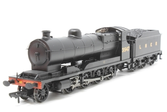 31-005-PO06 Class O4 Robinson 2-8-0 3547 in LNER black - Pre-owned - Imperfect Box