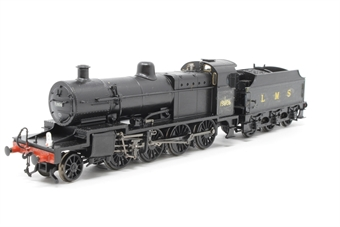 31-010-PO11 Class 7F 2-8-0 13806 in BR black with early emblem - Pre-owned - renumbered - repainted tender and cab - detailing added to tender - tedailed with added crew and lamps - link front coupling - minor marks on body - imperfect box