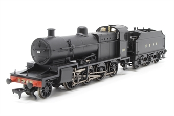 31-014-PO01 Class 7F 2-8-0 89 in Somerset & Dorset Railway black - Pre-owned - Like new