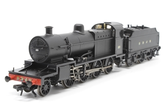 31-014-PO Class 7F 2-8-0 89 in Somerset & Dorset Railway black - Pre-owned - Like new