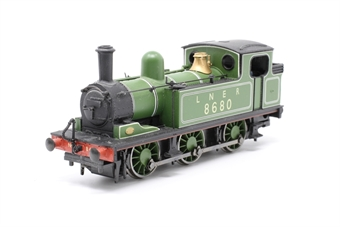 31-050A-PO01 Class J72 0-6-0T 8680 in LNER green - Pre-owned - Like new