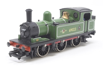 31-051-PO02 Class J72 0-6-0T 69023 in BR light green livery with BR late crest (as preserved) - Pre-owned - noisy runner -  imperfect box