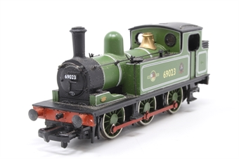 31-051-PO04 Class J72 0-6-0T 69023 in BR light green livery with BR late crest (as preserved) - Pre-owned -  Noisy runner - imperfect box