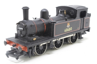31-052-PO05 Class J72 0-6-0T 68680 in BR lined black livery with early emblem - Pre-owned - worn box