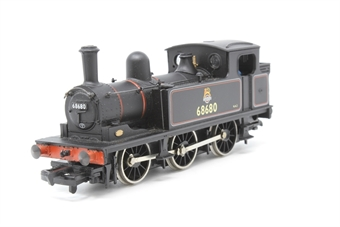 31-052-PO06 Class J72 0-6-0T 68680 in BR lined black livery with early emblem - Pre-owned - noisy/jerky runner