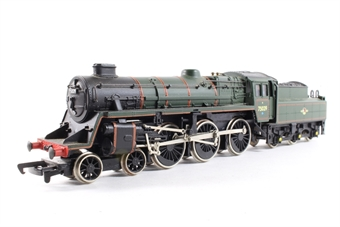 31-100 Standard Class 4MT 4-6-0 75014 with BR2 tender in BR black with early emblem