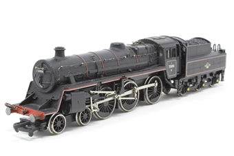 31-102-PO05 Standard Class 4MT 4-6-0 75073 with BR1B tender in BR lined black with early emblem - Pre-owned - sold as seen - wobbly runner