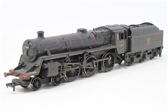 31-108-PO02 Standard Class 4MT 4-6-0 75065 with BR1B tender in BR lined black with early emblem (weathered) - Pre-owned - DCC fitted