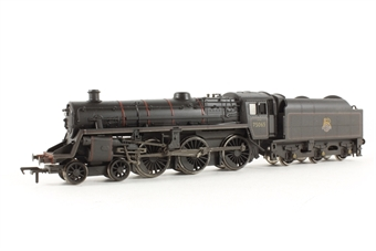 31-108 Standard Class 4MT 4-6-0 75065 with BR1B tender in BR lined black with early emblem (weathered)