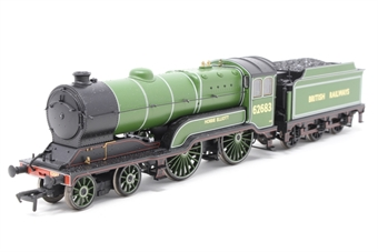31-136k-PO02 Class D11/2 4-4-0 62683 'Hobbie Elliott' in BR apple green - Limited edition for Bachmann Collectors Club - Pre-owned - DCC fitted, imperfect box