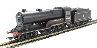 31-138 Class D11/2 4-4-0 62682 'Haystoun of Bucklaw' in BR black with early emblem