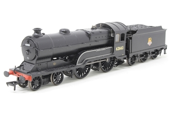 31-146-PO04 Class D11/1 4-4-0 62663 'Prince Albert' in BR black with early emblem - Pre-owned - DCC Sound-fitted, damage to tender to locomotive connection, missing some cab glazing, loose pipe work and footladder