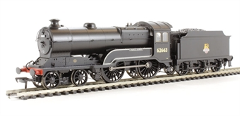 31-146 Class D11/1 4-4-0 62663 'Prince Albert' in BR black with early emblem