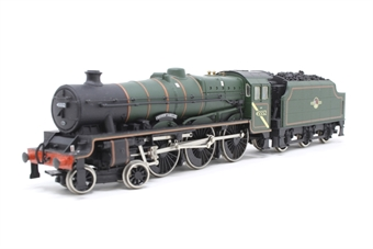 31-151-PO06 Class 5XP Jubilee 4-6-0 45552 'Silver Jubilee' in BR green with late crest - Pre-owned - detailed with real coal- snapped front coupling- imperfect box