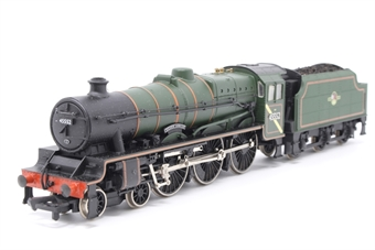 31-151-PO07 Class 5XP Jubilee 4-6-0 45552 'Silver Jubilee' in BR green with late crest - Pre-owned - detailed with crew and plates