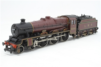 31-155-PO05 Class 5XP Jubilee 4-6-0 5699 'Galatea' with Fowler tender in LMS crimson - Pre-owned - slightly wobbly runner - inconsistent at slower speeds