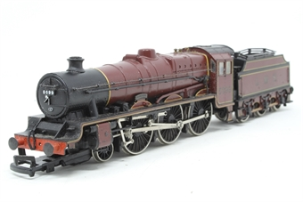 31-155-PO07 Class 5XP Jubilee 4-6-0 5699 'Galatea' with Fowler tender in LMS crimson - Pre-owned - sold as seen, Non runner, worn printing