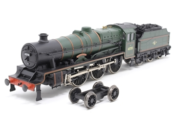 31-156-PO04 Class 5XP Jubilee 4-6-0 45715 'Invincible' in BR lined green with late crest - Pre-owned - Front bogie damaged and detatched