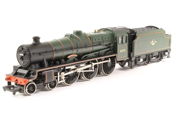 31-156-PO Class 5XP Jubilee 4-6-0 45715 'Invincible' in BR lined green with late crest - Pre-owned - Missing two buffers, damage to handrail on smoke box door