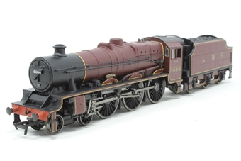 31-157-PO Class 5XP Jubilee 4-6-0 5684 'Jutland' in LMS crimson - Pre-owned - Like new