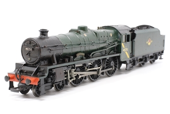 31-159-PO06 Class 5XP Jubilee 4-6-0 45711 'Courageous' with Fowler tender - Pre-owned - missing coupling hook - repainted - renumbered - detailed cab - detailed with added crew and real coal to tender - imperfect box