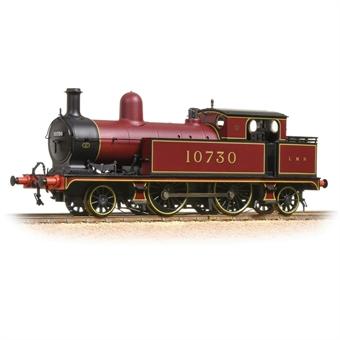 31-168A Class 5 LYR 2-4-2T 10730 in LMS crimson lake