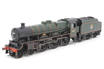 "31-175-PO07 Class 5XP Jubilee 4-6-0 45611 ""Hong Kong"" in BR green with early emblem - Pre-owned - DCC fitted, one step loose from under front buffer beam"