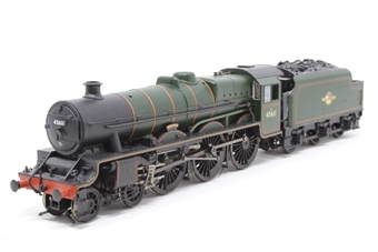 "31-175-PO09 Class 5XP Jubilee 4-6-0 45611 ""Hong Kong"" in BR green with early emblem - Pre-owned - DCC fitted, added coal and crew, front steps detached"