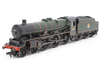 """31-175-PO10 Class 5XP Jubilee 4-6-0 45611 """"Hong Kong"""" in BR green with early emblem - Pre-owned - Like new"""