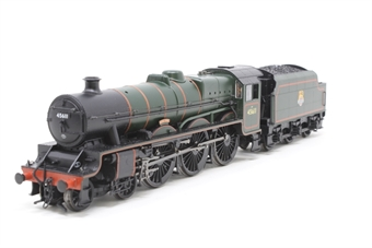 "31-175-PO12 Class 5XP Jubilee 4-6-0 45611 ""Hong Kong"" in BR green with early emblem - Pre-owned - part of footplate loose, Intermittent runner"