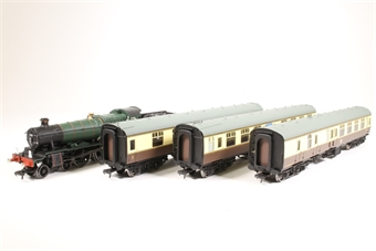 31-2000-SD Cambrian Coast Express Trainpack - Pre-owned - forward left drive wheel plastic spokes removed due to warped plastic £180