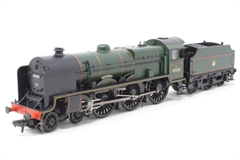 31-214-PO02 Class 6P Patriot 4-6-0 45538 'Giggleswick' in BR Green with early emblem - Open box, DCC Fitted, loose footplate