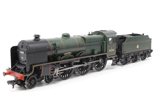 31-214-PO06 Class 6P Patriot 4-6-0 45538 'Giggleswick' in BR Green with early emblem - Pre-owned - Missing screw connecting locmotive to tender