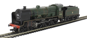 31-214 Class 6P Patriot 4-6-0 45538 'Giggleswick' in BR Green with early emblem
