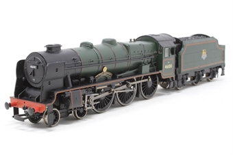 "31-228-PO06 Class 6P Rebuilt Royal Scot 4-6-0 46141 ""The North Staffordshire Regiment"" in BR green with early emblem - Pre-owned - missing coupling hooks"