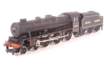 """31-250-PO01 Rebuilt Jubilee Class 4-6-0 45735 """"Comet"""" in BR black - Pre-owned - detailed with crew £54"""