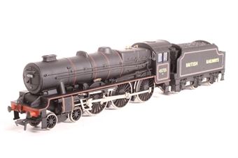 """31-250-PO Rebuilt Jubilee Class 4-6-0 45735 """"Comet"""" in BR black - Pre-owned - replacement box £53"""