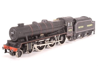 """31-250-SAS Rebuilt Jubilee Class 4-6-0 45735 """"Comet"""" in BR black - Pre-owned - loco body on Mainline chassis - sold as seen - DCC fitted - poor runner £42"""