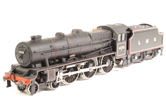 "31-250-SD02 Rebuilt Jubilee Class 4-6-0 45735 ""Comet"" in BR black loco/LMS Black tender - Pre-owned -Original BR tender replaced with LMS tender, does not run in reverse £30"