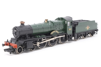 31-300-PO08 Manor Class 4-6-0 7802 'Bradley Manor' in BR Green Livery with late crest- Pre-owned - tender repainted and new transfers added