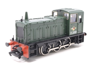 31-350-PO01 Class 03 Shunter D2000 in BR Green with late crest - Pre-owned - Like new - imperfect box