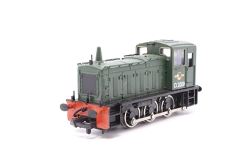 31-350-PO03 Class 03 Shunter D2000 in BR Green with late crest - Pre-owned - Imperfect box