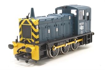 31-352-PO03 Class 03 Shunter 03371 in BR Blue  - Pre-owned - Poor noisy runner